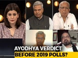 Video: Top Court To Hear Ayodhya Case From October 29: Is It Advantage BJP?