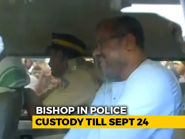 Video : Bishop Arrested For Allegedly Raping Kerala Nun Stood Smiling In Court