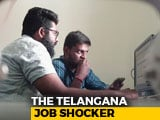 Video : In Telangana, Hundreds Of PhDs, Engineers Apply For Clerical Job
