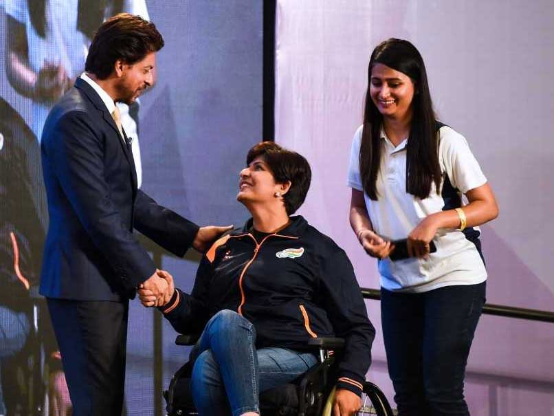 All Individuals Incomplete In Their Own Way, Says Shah Rukh Khan To Paralympic Contingent