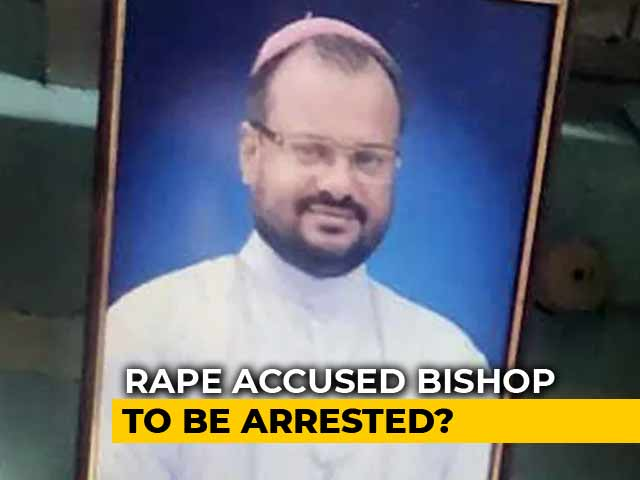 Video : Bishop Accused Of Raping Kerala Nun Questioned For 3rd Day, Faces Arrest