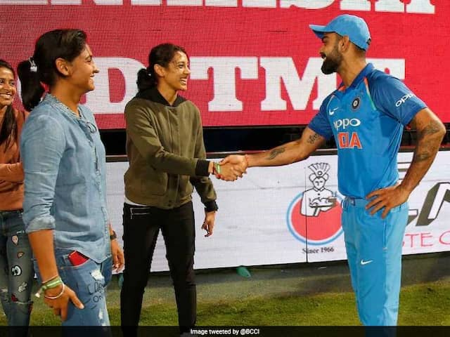 BCCI Congratulates Virat Kohli, Smriti Mandhana For Khel Ratna And Arjuna Award