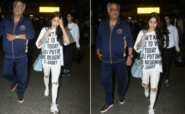 Janhvi Kapoor's Quick Fix When She Doesn't Know What To Wear