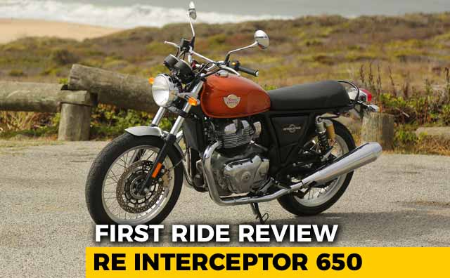 Video : Royal Enfield Interceptor 650 First Ride Review