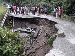 Landslides, Rain In North Sikkim; Road Links Cut Off At Several Places
