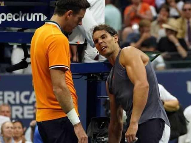 US Open: Juan Martin del Potro Reaches Final As Rafael Nadal Retires With Knee Injury