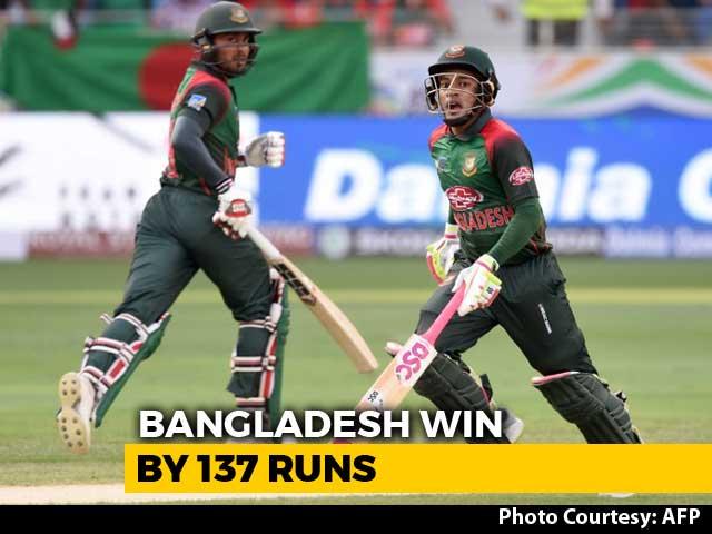 Asia Cup 2018: Centurion Mushfiqur Rahim Helps Bangladesh Thump Sri Lanka