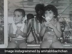 The 2 Little Ice Cream-Eating Bachchans In Amitabh Bachchan's Pic Have Come A Long Way