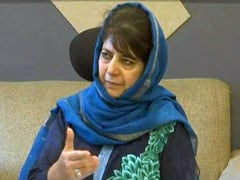 """Anything For Article 35A"": Mehbooba Mufti's PDP To Boycott Local Polls"