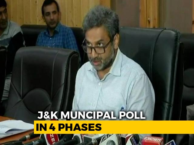 Video : J&K Local Body Poll Dates Announced, Voting To Be Held In 4 Phases