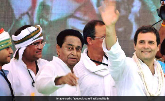 Kamal Nath Gives A Tough Fight To BJP's 'Kamal' In Madhya Pradesh