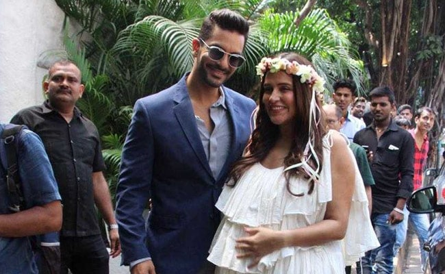 Neha Dhupia's glow at her baby-shower takes all the attention