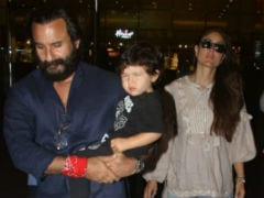 Kareena Kapoor, Saif Ali Khan And Taimur Return From Maldives Vacation