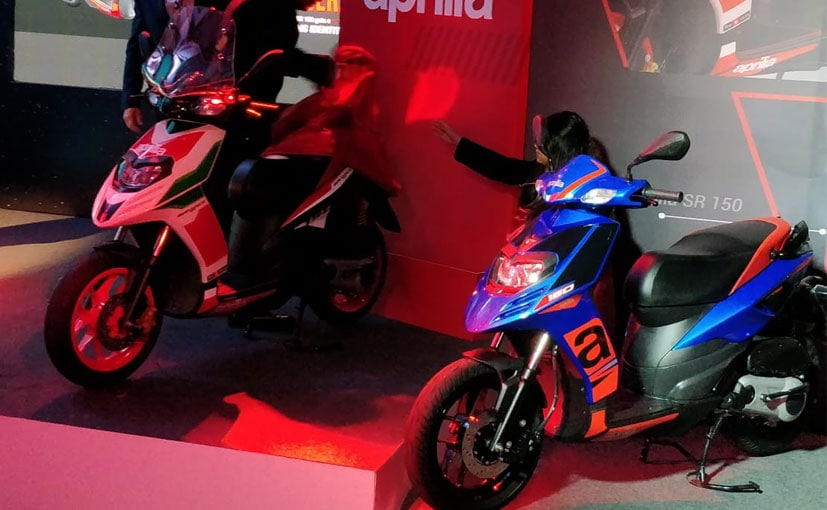 The Aprilia SR 150 does not have a direct rival in the segment