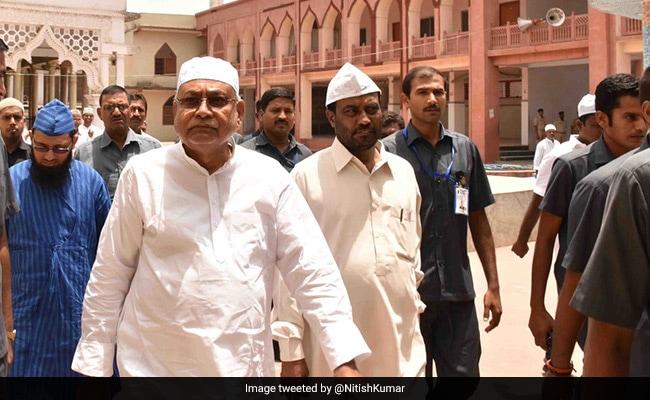 For Muharram, Nitish Kumar Pays Tributes To Hazrat Imam Hussain