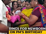 Video : On PM Modi's Birthday, Tamil Nadu BJP Gifts Gold Rings To Newborns