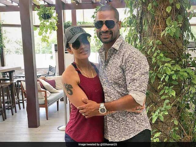 Shikhar Dhawans Wife Aesha Reveals How She Met Him For The First Time
