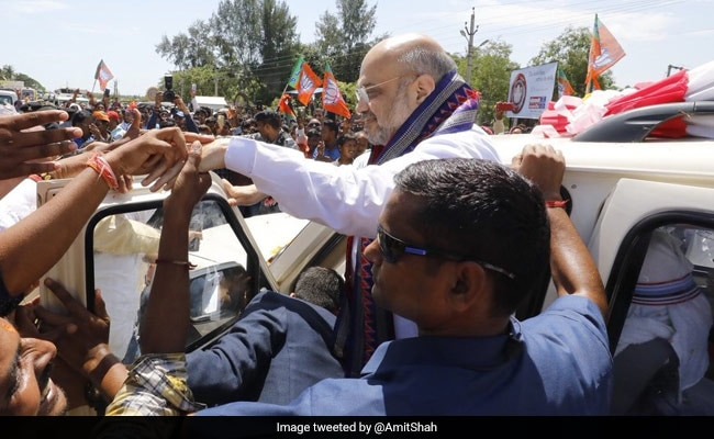 Amit Shah Reaches Odisha To Discuss Party Strategy For 2019 Polls