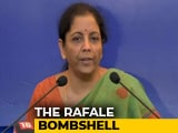 "Video : ""Perception Battle, Will Fight It"": Nirmala Sitharaman On Rafale Row"