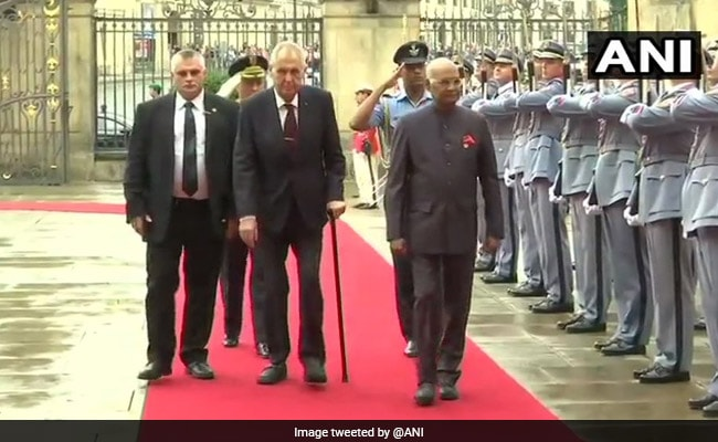 President Kovind Invites Czech Defence Companies To Set-Up Joint Ventures