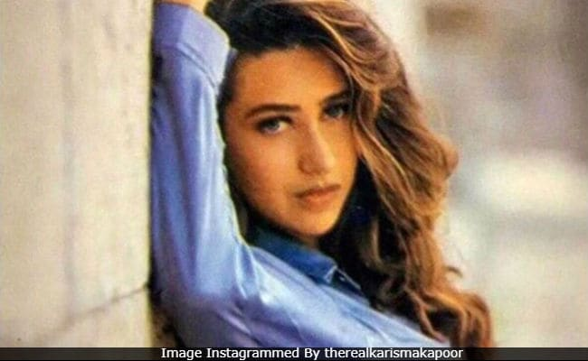 Karisma Kapoor's Flashback Friday Pic Is Keeping The Internet Very Busy. Here's Why