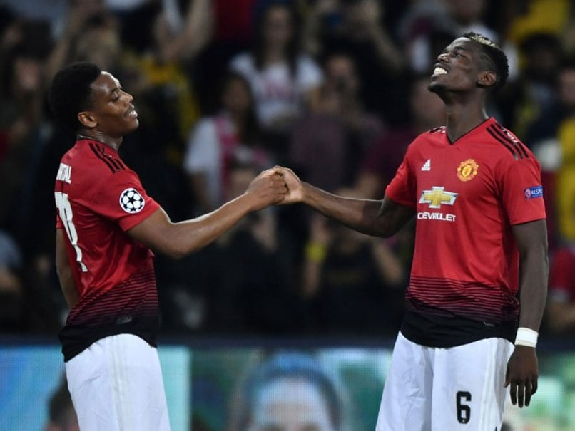 Champions League Paul Pogba Propels Manchester United To Victory Over Young Boys