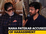 Video : Amitabh Bachchan And Aamir Khan Dodge Tanushree Dutta-Nana Patekar Question