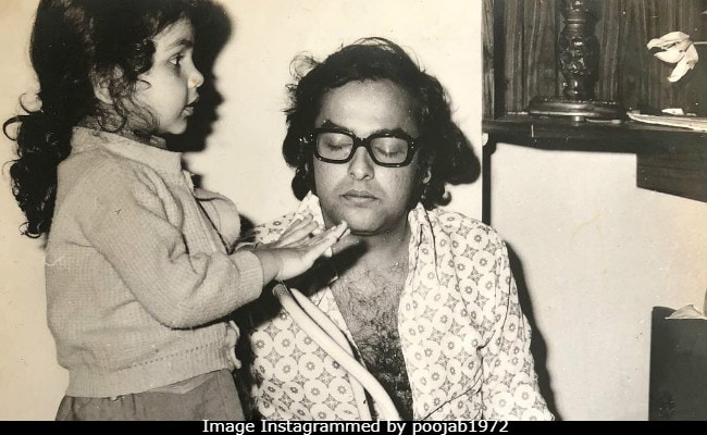 Pooja Bhatt Begins Countdown To Dad Mahesh's Birthday With Cute Throwback Pic