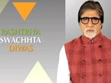 Video : Amitabh Bachchan Invites Citizen Participation On Rashtriya Swachhta Diwas
