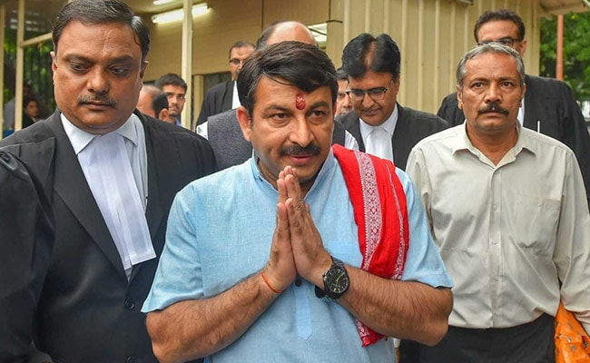 Manoj Tiwari Sued For Defamation After Rs 2,000 Crore Delhi Scam Charge
