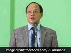 Mizoram Home Minister R Lalzirliana Resigns; Setback For Congress