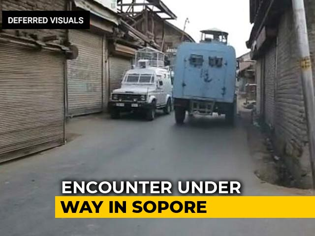Video : 2 Terrorists Shot Dead In Baramulla After Six-Hour Encounter