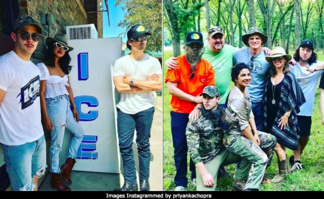Priyanka Chopra Channels Her Inner Cowgirl On A Texas Ranch With Nick Jonas