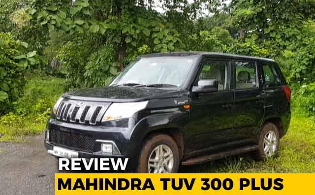 Mahindra TUV 300 Plus Review