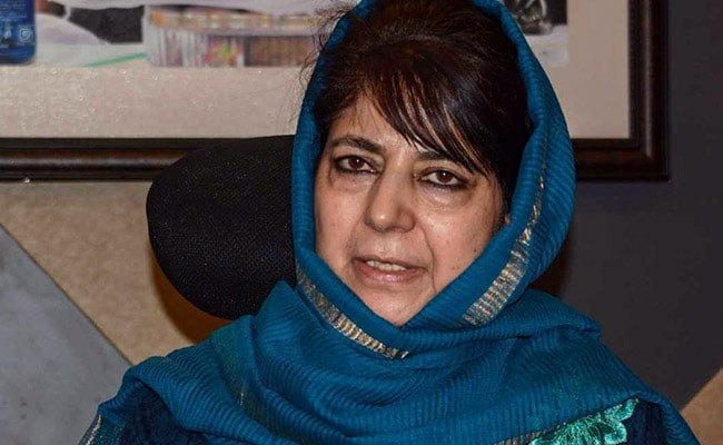 Mehbooba Mufti Takes A Jibe At Air India's 'Jai Hind' Order