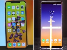 Battle of the Big Boys: Samsung Galaxy Note 9 vs iPhone XS Max