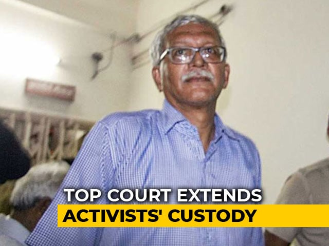Video : House Arrest of 5 Activists Extended Till September 17 By Supreme Court