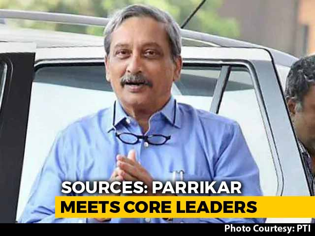 "Video : Manohar Parrikar To Fly To Delhi For Treatment, BJP ""Explores Options"""