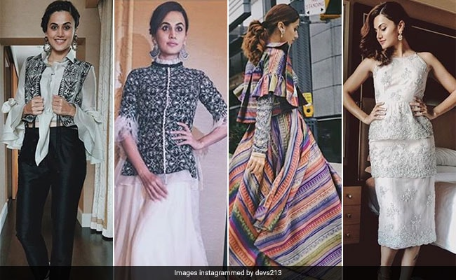 Can't Take Our Eyes Off Taapsee Pannu In Toronto