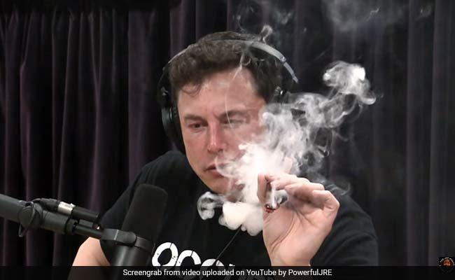 Tesla Turmoil Peaks As Elon Musk Smokes Weed On YouTube