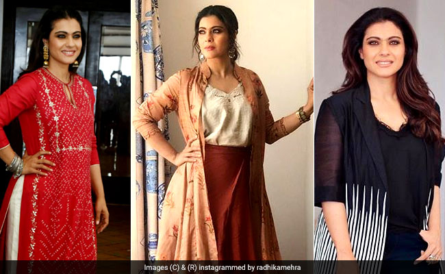 In 3 Looks, Kajol Shows Us Exactly How To Welcome The Fall And Festive Season