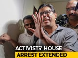 "Video : ""Proof Must Be Robust"": Top Court To Maharashtra On Activists' Arrests"