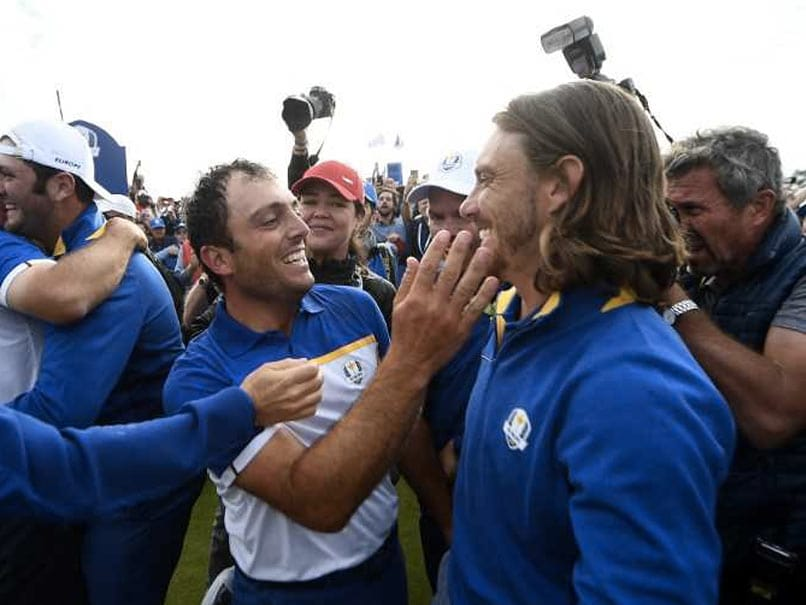 Europe Hold Off Tense US Fightback For Emotional Ryder Cup Triumph