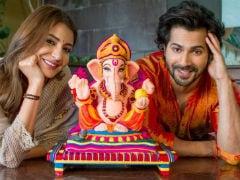 Ganesh Chaturthi 2018: <i>Sui Dhaaga</i> Stars Anushka Sharma And Varun Dhawan's Very Eco-Friendly Ganpati