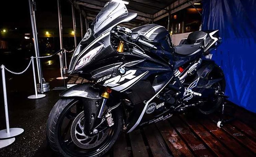 BMW Motorrad showcased the BMW G 310 RR concept model at the ongoing BMW Motorrad Days in Japan.