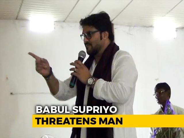 Video : Babul Supriyo Should Step Down As Minister, Stay At Home, Say Activists