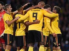 Lukaku, Hazard Help Belgium Hammer Scotland In International Friendly