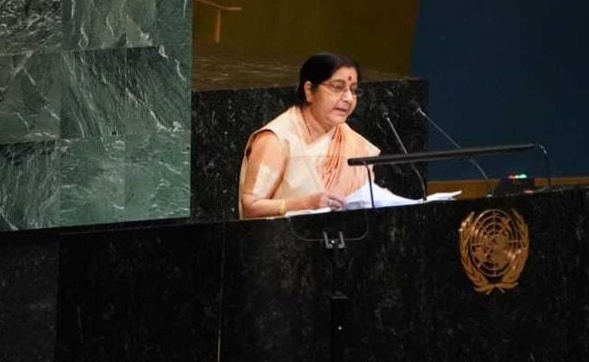 UNGA: संयुक्त राष्ट्र में सुषमा स्वराज ने पाकिस्तान को जमकर लगाई लताड़, कही यह बात...