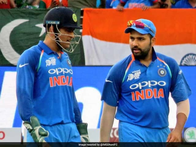 Rohit Sharma Speaks About MS Dhonis Absence From Indias T20I Team