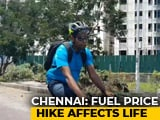 Video : Rise In Fuel Prices Prompts Many To Cycle To Work, Take Trains In Chennai